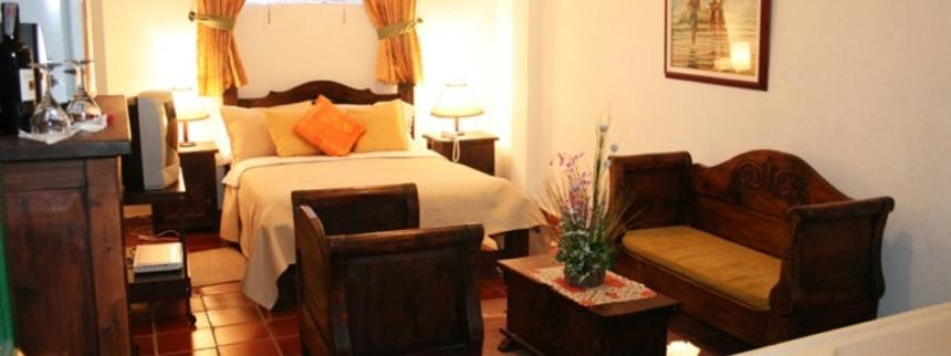 Junior Suite. Fuente: www.hotelbahiaolivo.com